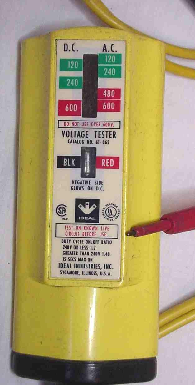 Vintage Voltage tester volts testers amp meters
