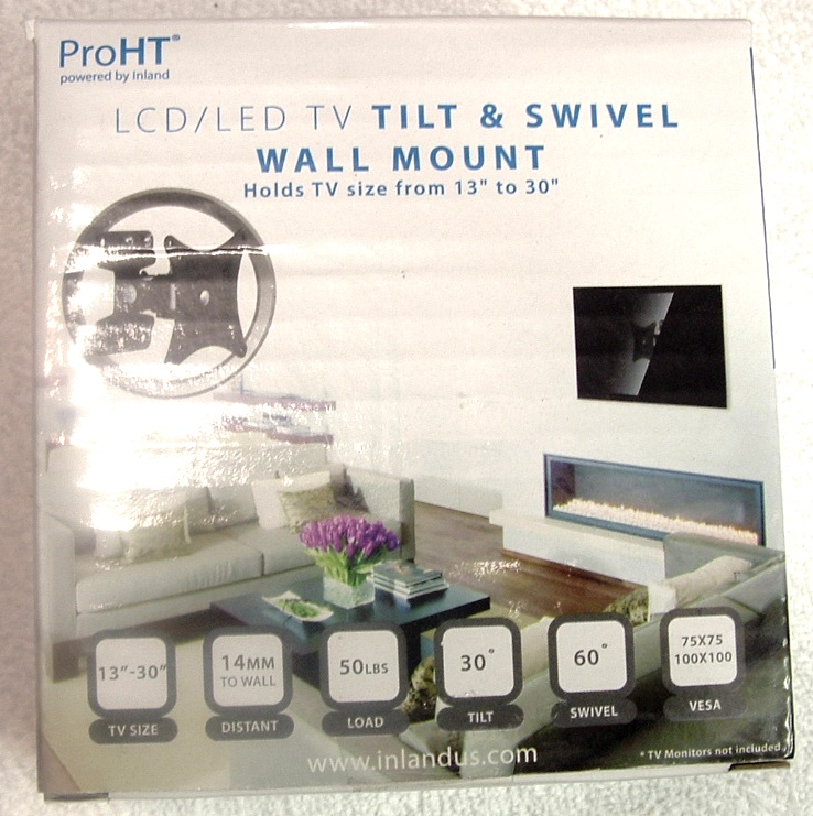 Inland Tilt and Swivel Arm TV Wall Mount 13 - 30