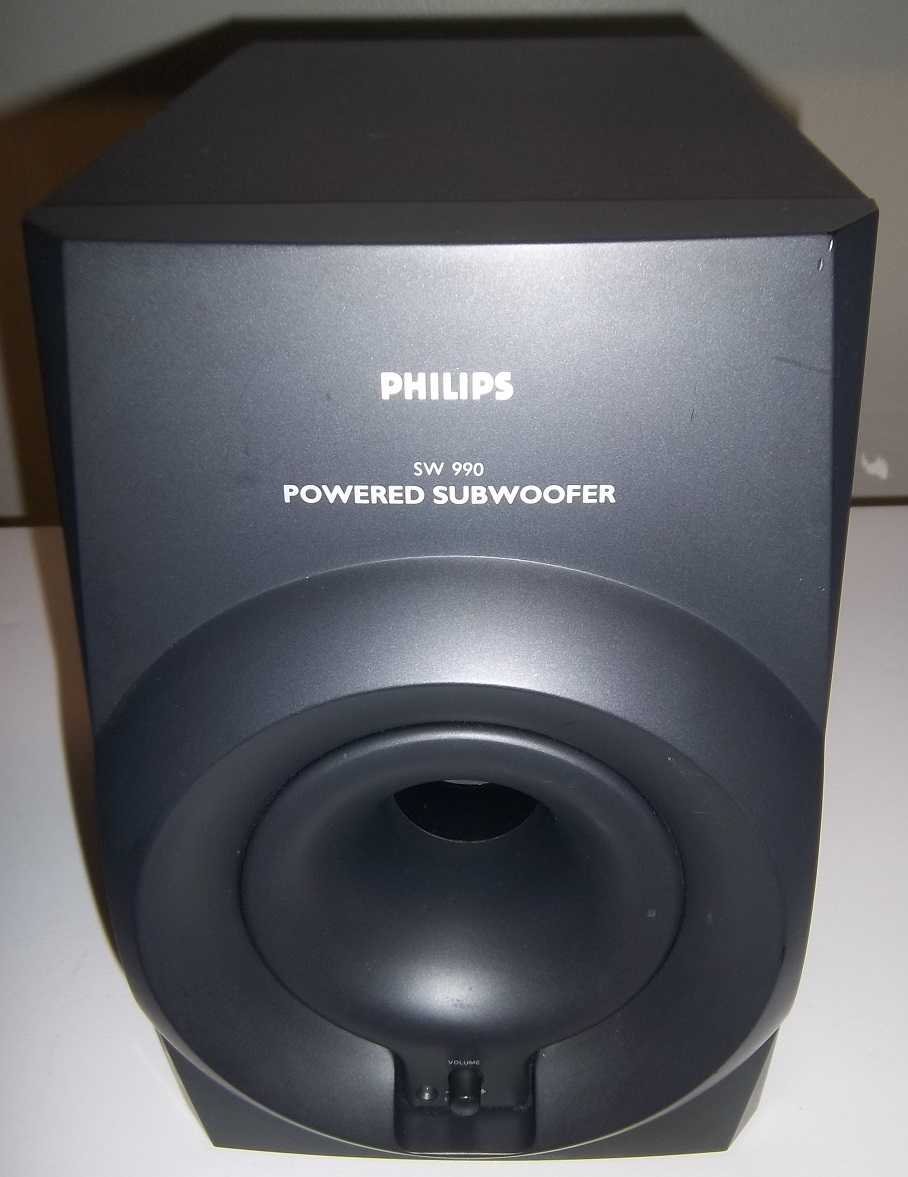 Philips SW990 Subwoofer