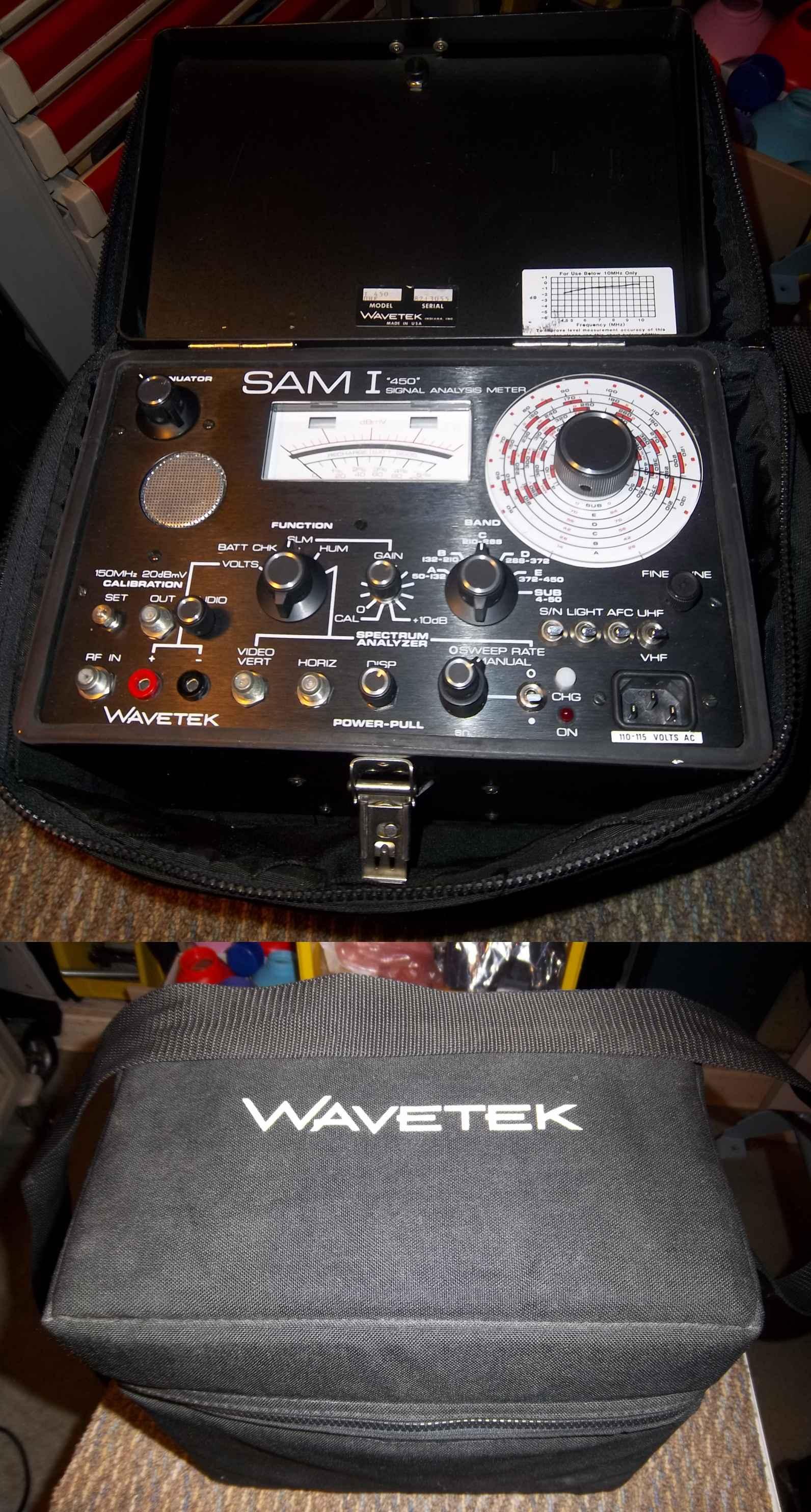 Wavetech Sam I Signal Analysis Meter - I 450UHF  meters wavetech Wavetech Sam1 Signal Analysis Meter - I450UHF